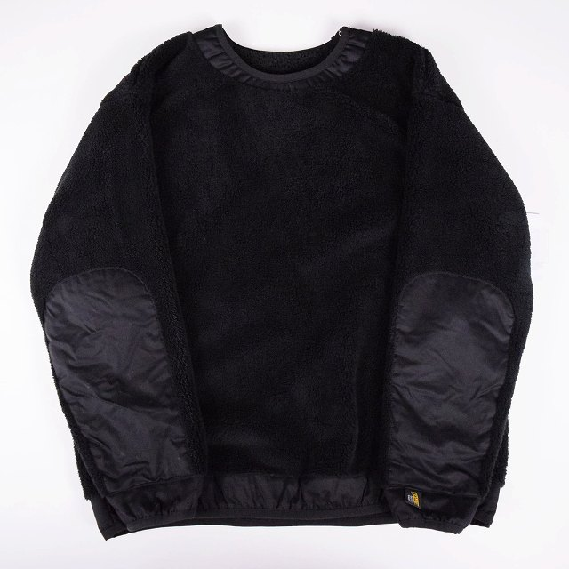 "画像1: COMFY OUTDOOR GARMENT ""PRECOLD FLEECE TEE"" BLACK 【L】 (1)"