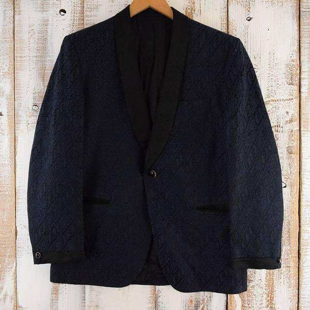 画像1: HUDSON'S 織り柄テーラードジャケット (1)