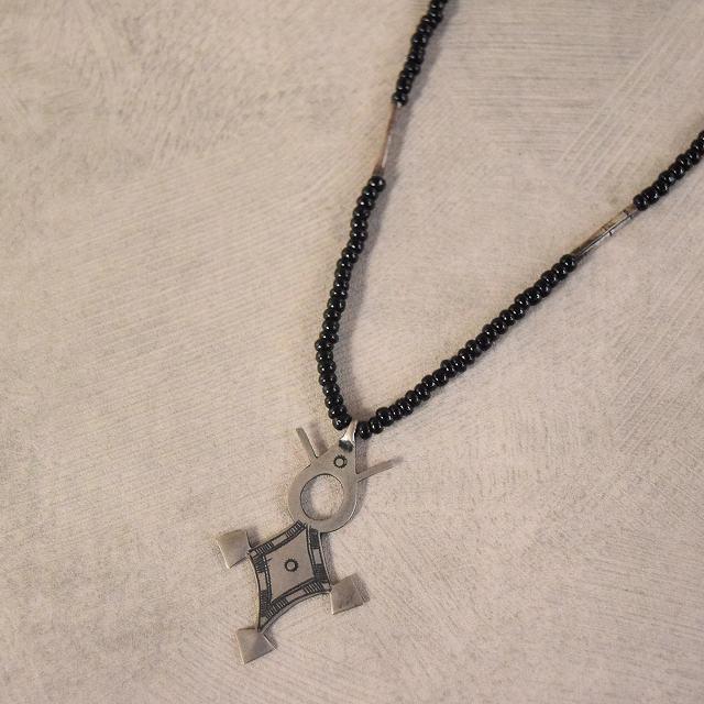 画像1: トゥアレグ族 Silver Necklace (1)