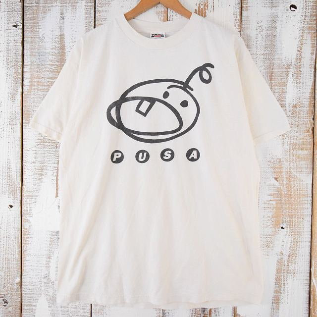 画像1: 90's PUSA バンドTシャツ XL (1)