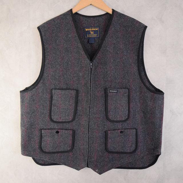 画像1: Woolrich Hanting Vest (1)
