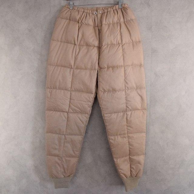 画像1: COMFY Down Pants W25-37 (1)