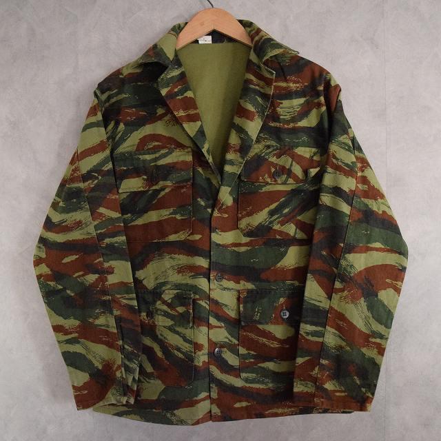 画像1: FRENCH ARMY リザードカモ Shirt (1)
