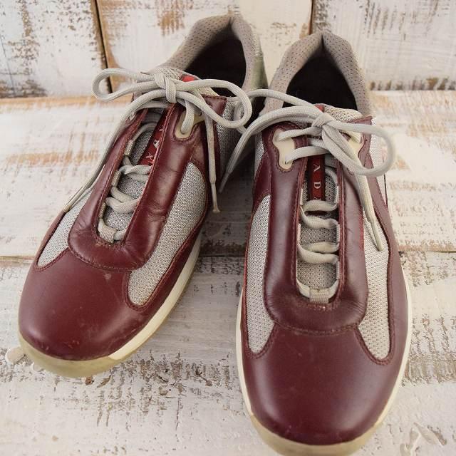 画像1: PRADA America's Cup'Leather Sneaker (1)