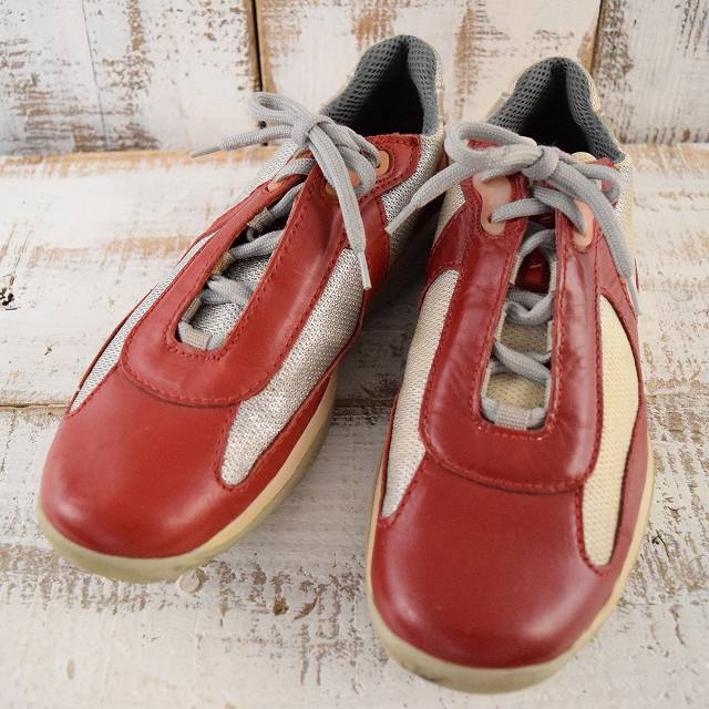 画像1: PRADA America's Cup'Leather Sneaker (1)
