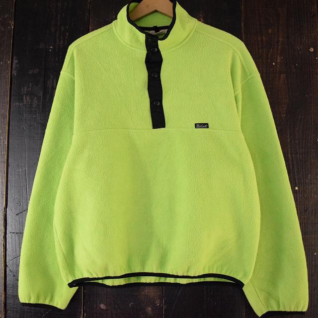 画像1: Woolrich USA製 ネオンカラー フリースジャケット (1)