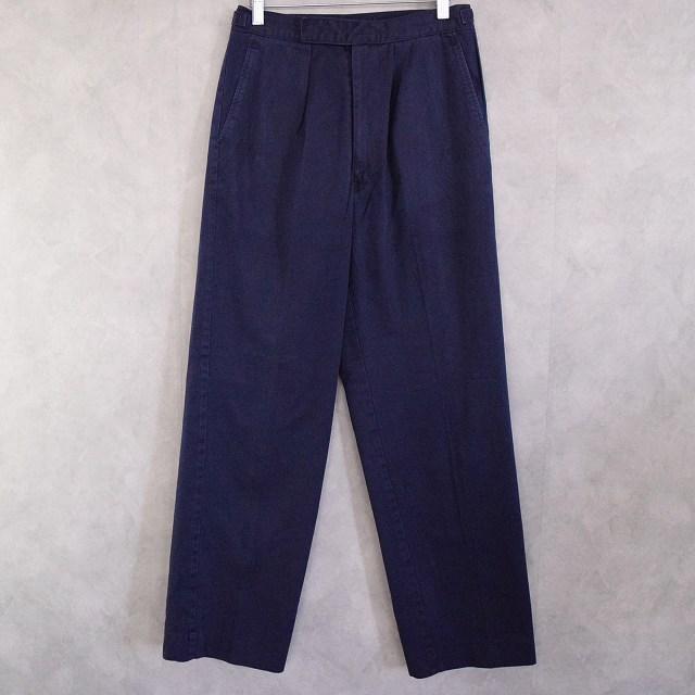 画像1: 70〜80's Royal Navy Working Dress Trousers W29 (1)