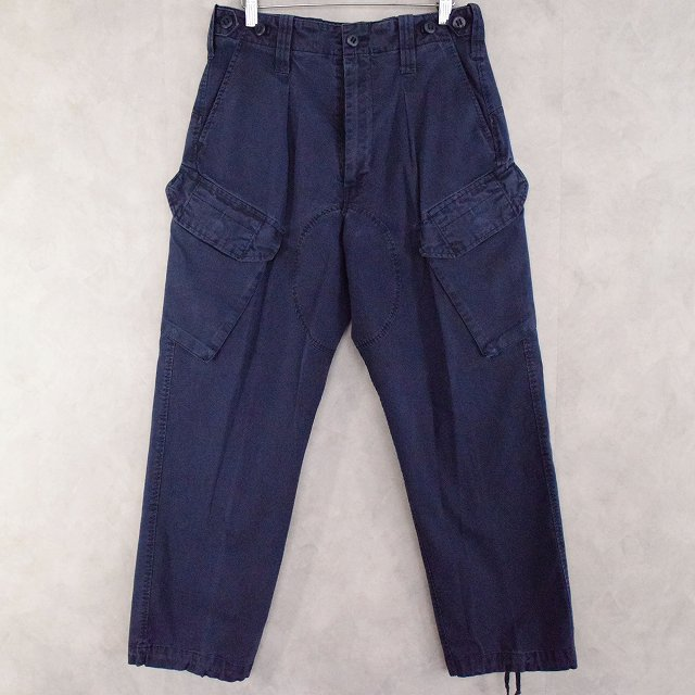 画像1: BRITISH ROYAL NAVY COMBAT TROUSERS W29 (1)