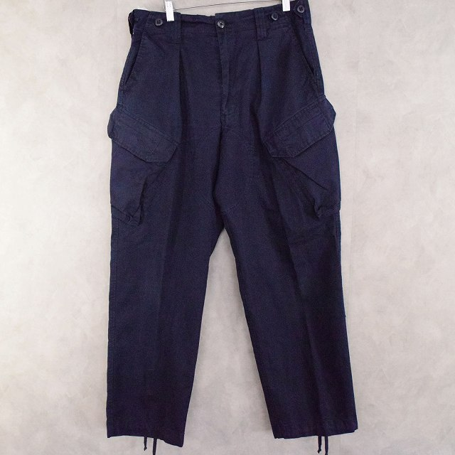 画像1: BRITISH ROYAL NAVY COMBAT TROUSERS W33 (1)