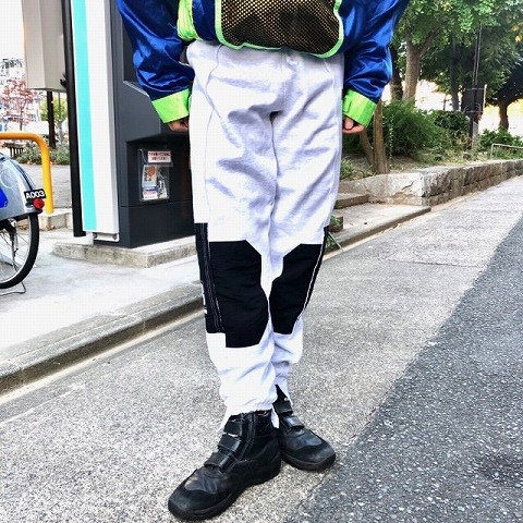 """画像1: BOWWOW """"TECH"""" REMAKE SWEAT PANTS GRAY 【M】 (1)"""