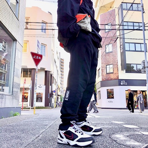 "画像1: BOWWOW ""TECH"" REMAKE SWEAT PANTS BLACK 【M】 (1)"
