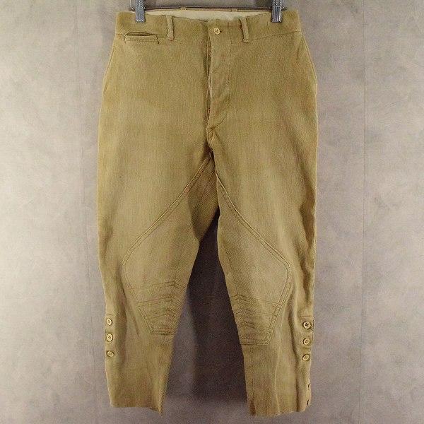 画像1: 30's〜40's Corduroy Joppers Pants W28 (1)