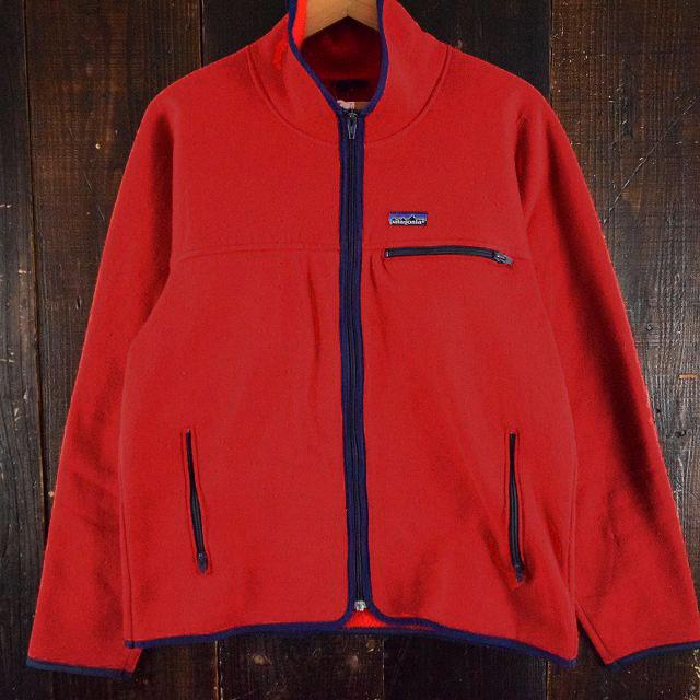 画像1: 【SALE】 80〜90's Patagonia 裏フリースジャケット (1)