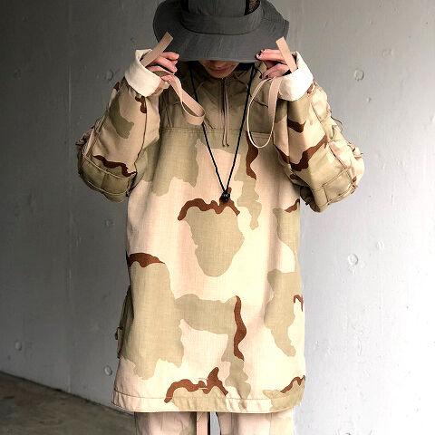 画像1: 【SALE】USA製 デザートカモ メッシュデザインジャケット (1)