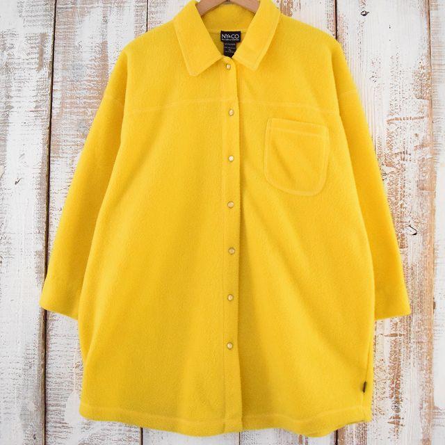 画像1: NY&CO フリースシャツジャケット XL (1)