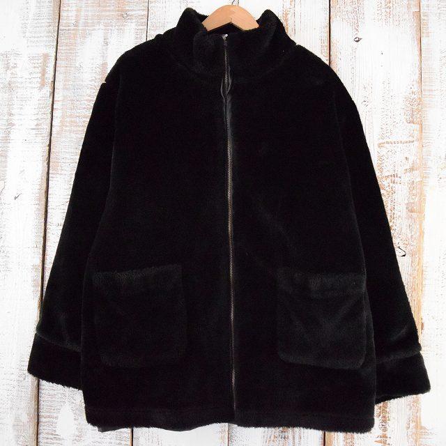 画像1: dressbarn リバーシブルジャケット BLACK XL (1)