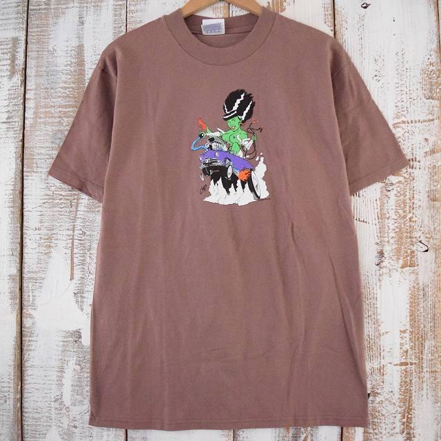 画像1: 90's COOP USA製 エロプリントTシャツ (1)