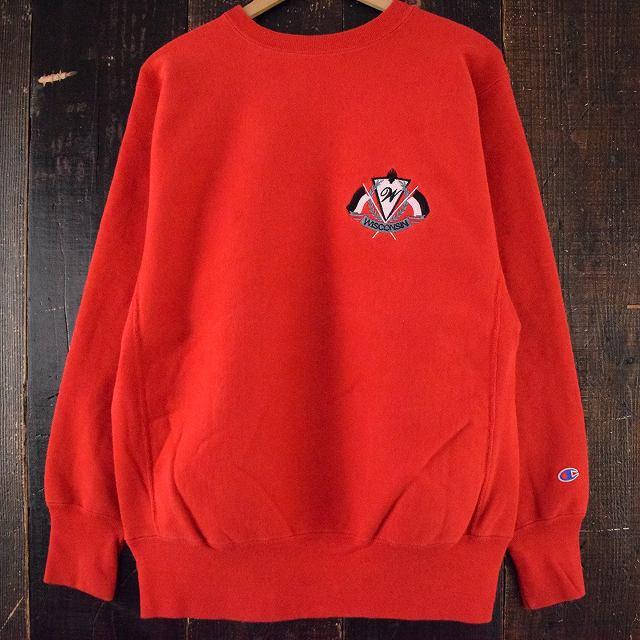 画像1: 90's Champion REVERSE WEAVE  USA製 刺繍入り XL (1)
