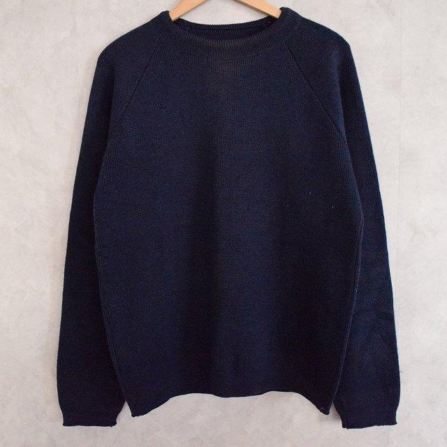 画像1: VINTAGE Knit Sweater Navy (1)