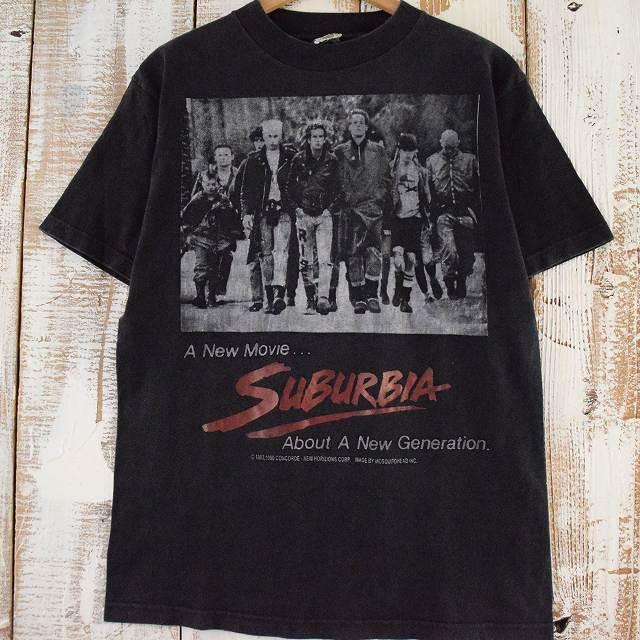 画像1: 90's Mosquitohead SUBURBIA USA製 punk movie T-shirt (1)