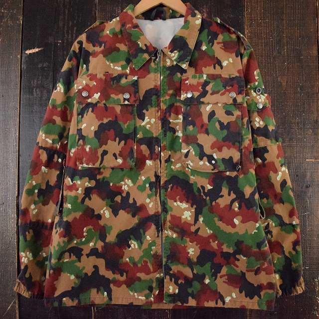 画像1: スイス軍 アルペンカモ フィールドジャケット (1)