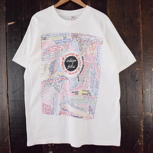 画像1: 90's Indigo Girls USA製 ミュージックTシャツ XL (1)