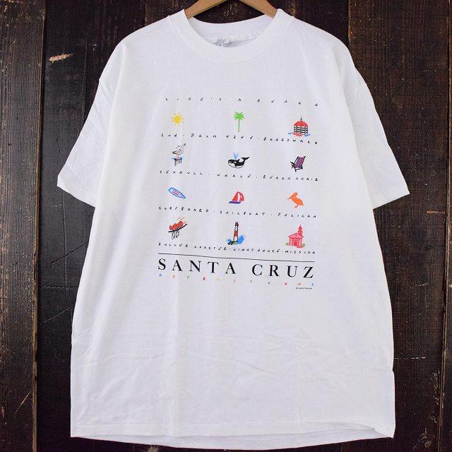"""画像1: Luke-A-Tuke """"SANTA CRUZ"""" スーベニアTシャツ XL (1)"""