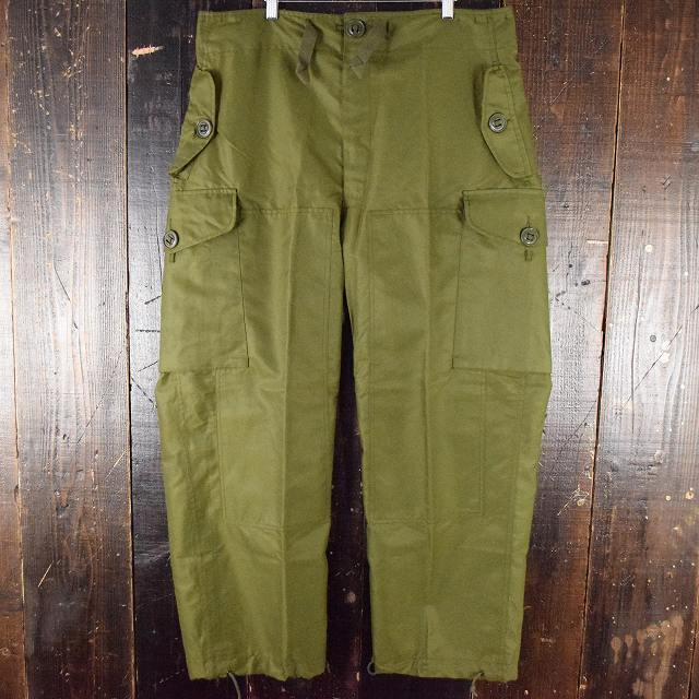 画像1: 80's Canadian Military オーバーパンツ Short Small (1)