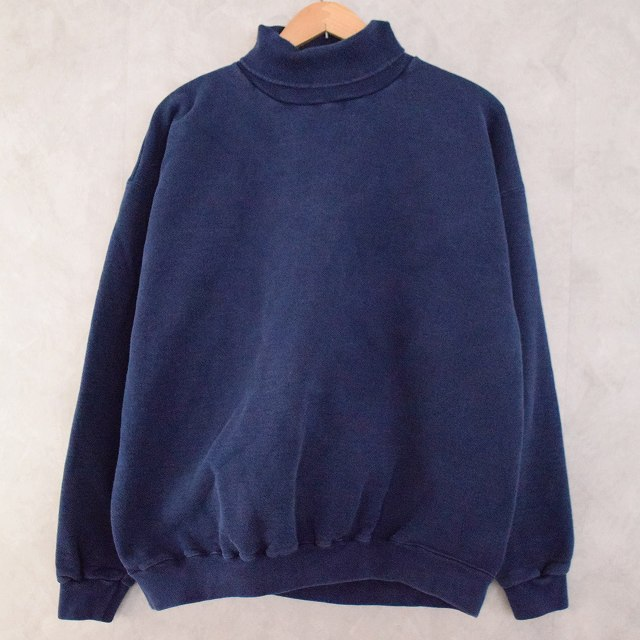 画像1: 90's TULTEX USA製 Turtleneck Sweat (1)