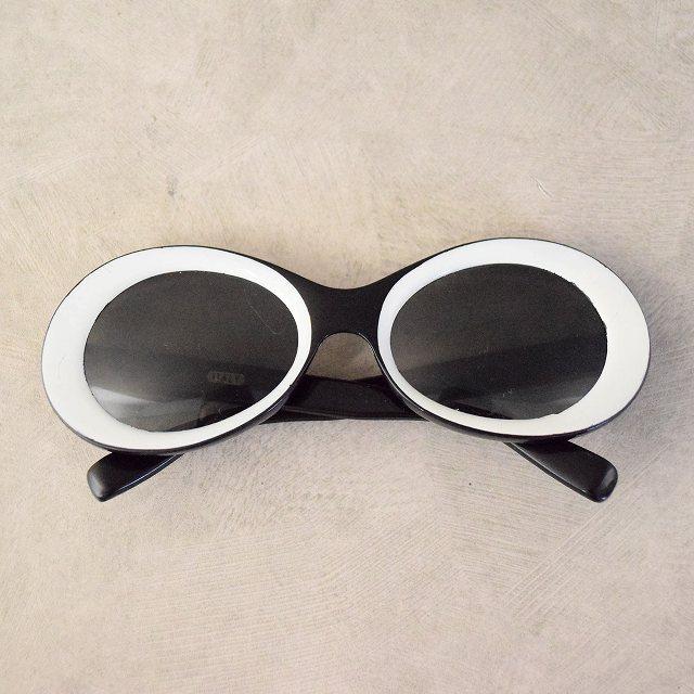画像1: VINTAGE ITALY製 Sunglasses (1)