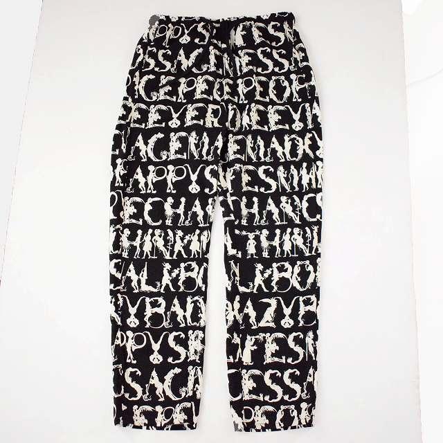 """画像1: Feeet2nd限定 ink """"EMOTION PANTS""""  BLACK 【L】 (1)"""