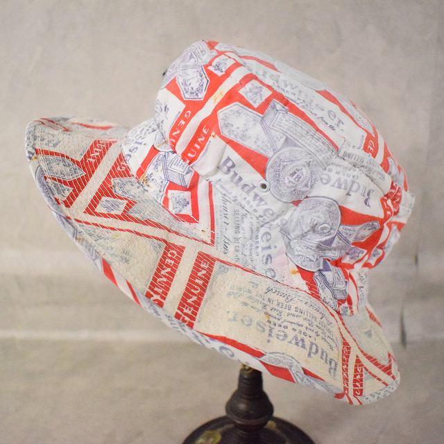 画像1: Budweiser 総柄 Cotton Hat (1)