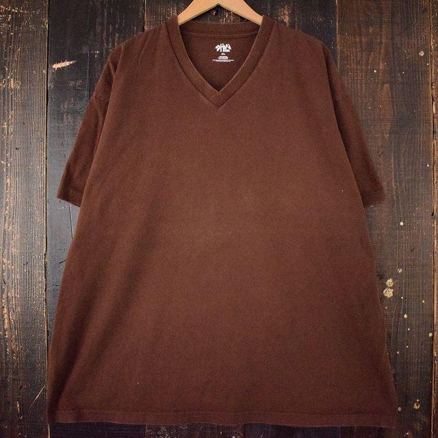 画像1: SHAKA WEAR 無地VネックTシャツ 3XL (1)