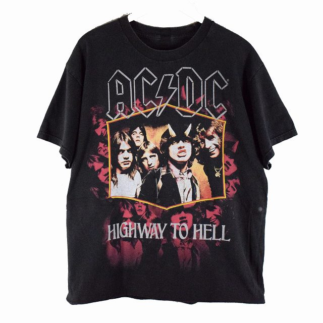 "画像1: UNDRESS ""HURRY"" T-SHIRTS (AC/DC) 【M】 (1)"