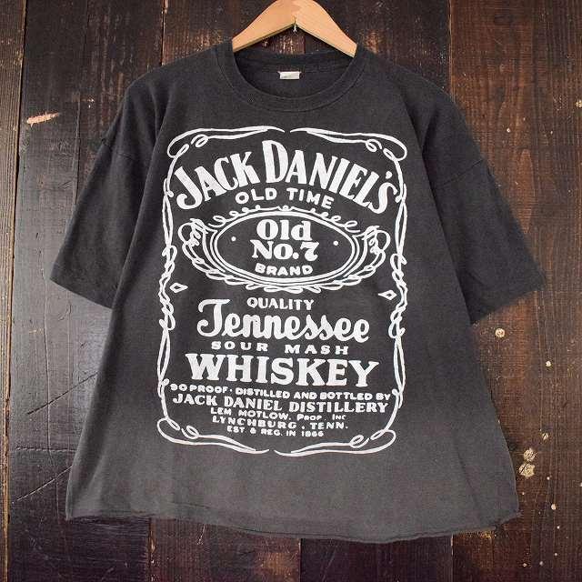 画像1: 80's〜90's JACK DANIEL'S ウイスキーブランドTシャツ (1)