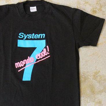 """画像1: 90's Apple USA製 """"System 7"""" プリントTシャツ DEADSTOCK M (1)"""