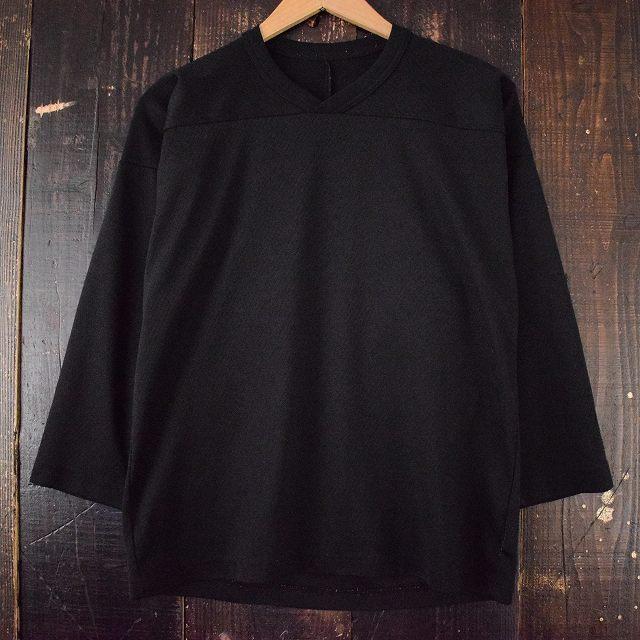 画像1: CCM メッシュ フットボールシャツ BLACK (1)