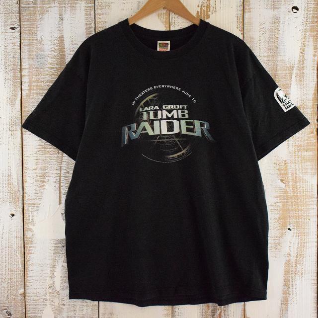画像1: TOMB RAIDER × TACOBELL 映画Tシャツ XL (1)