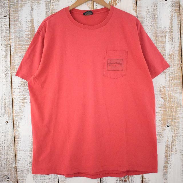 画像1: 90's Ralph Lauren POLO COUNTRY USA製 ロゴプリント ポケ付きTシャツ L (1)