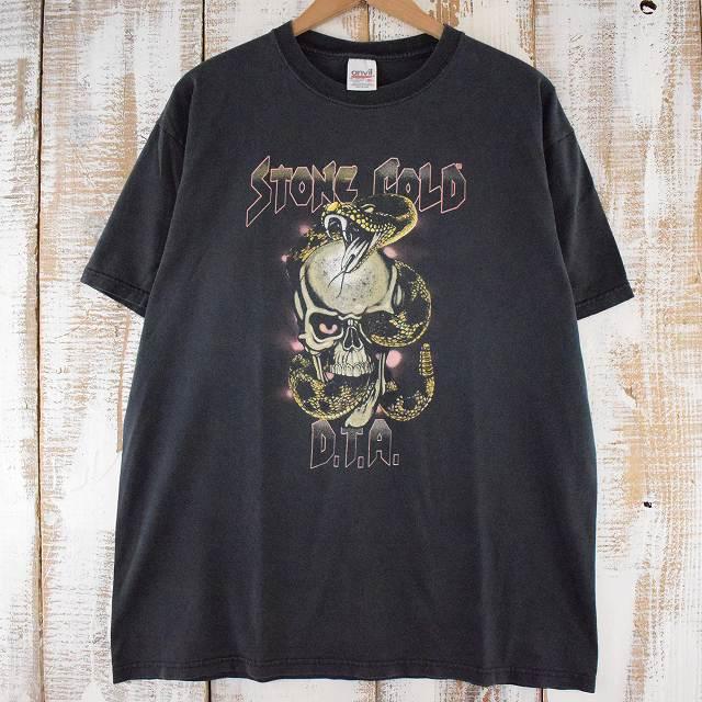 """画像1: 90's〜 WWF """"COLD STONE D.T.A."""" プロレスTシャツ XL (1)"""