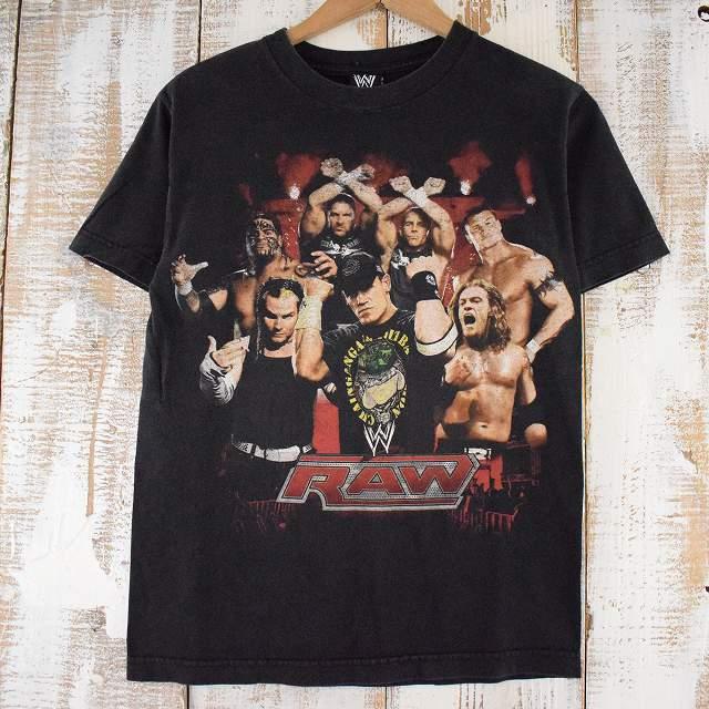 """画像1: 00's WWE """"RAW"""" プロレスラーTシャツ (1)"""