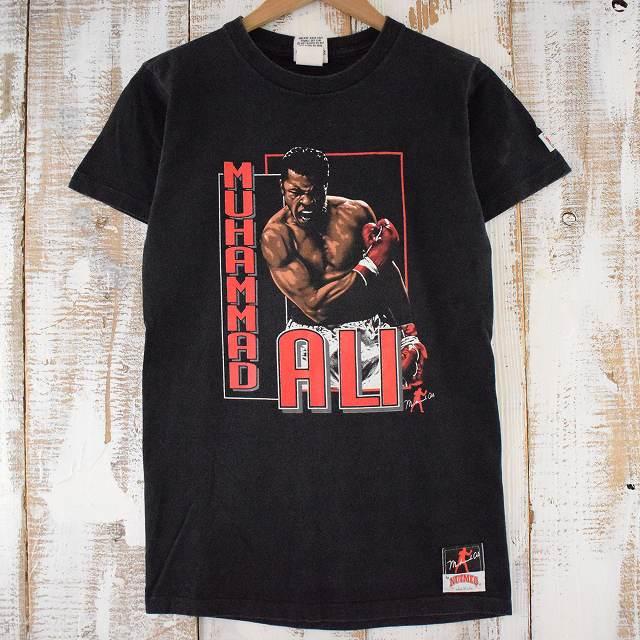 画像1: 90's MUHAMMAD ALI USA製 ボクシングTシャツ L (1)