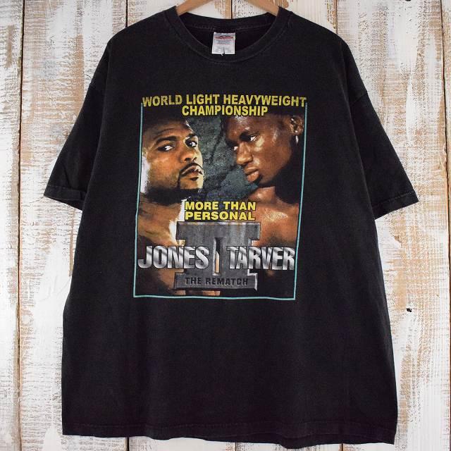 画像1: JONES vs TARVER ボクシングTシャツ 2XL (1)