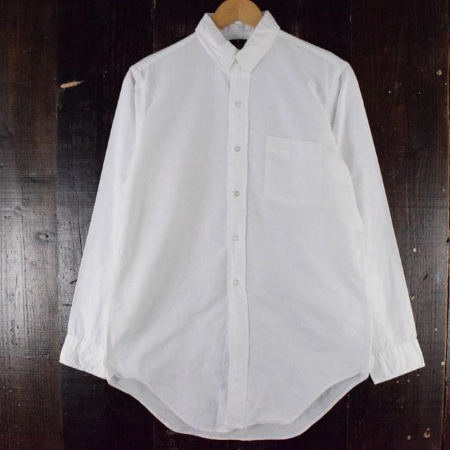 画像1: 60's ELDERADO ホワイトコットンシャツ (1)
