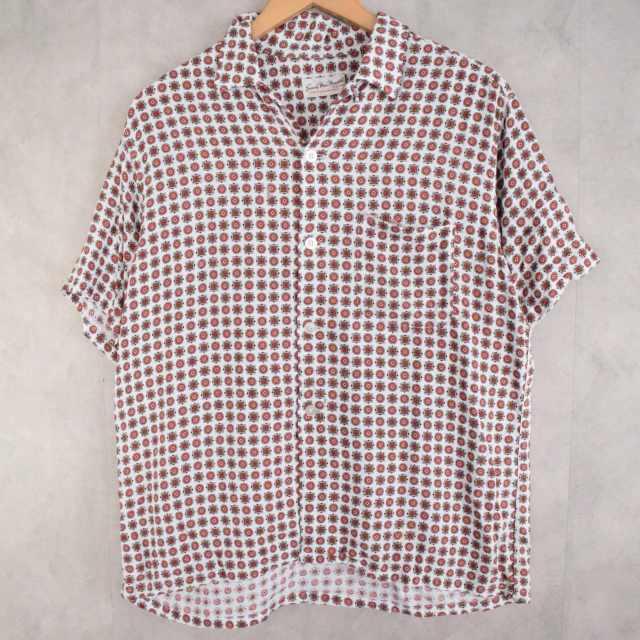画像1: 60's Sandy Mac Donald Rayon Shirt L (1)