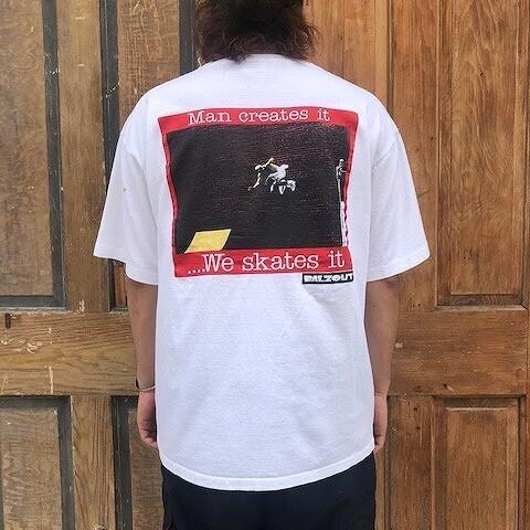 画像1: 【SALE】 90's BALZOUT USA製 Skate Brand T-shirts XL (1)