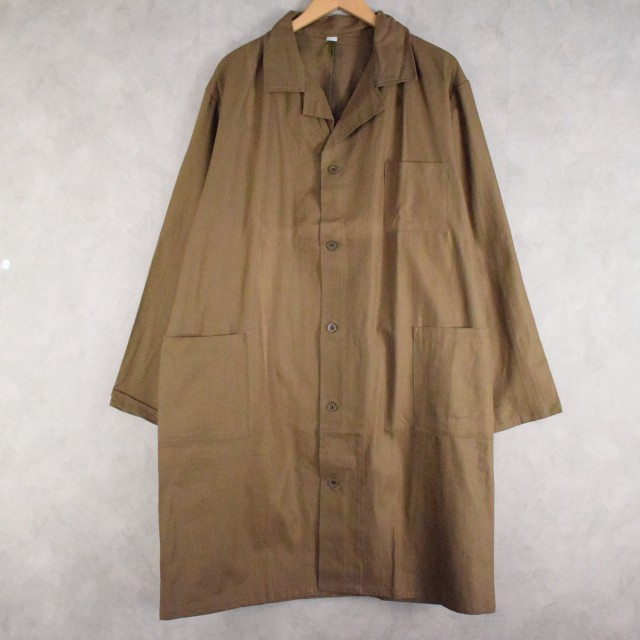 画像1: CZECH ARMY Work coat DEADSTOCK (1)
