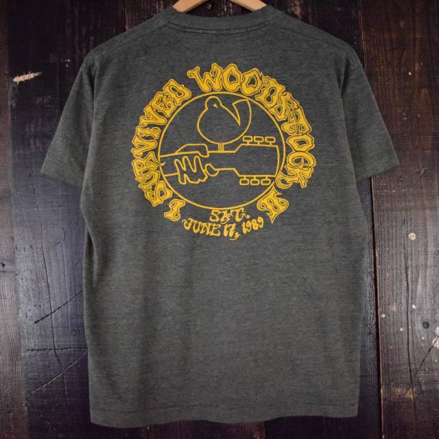 画像1: 80's WOODSTOCK ロックフェスティバルTシャツ (1)