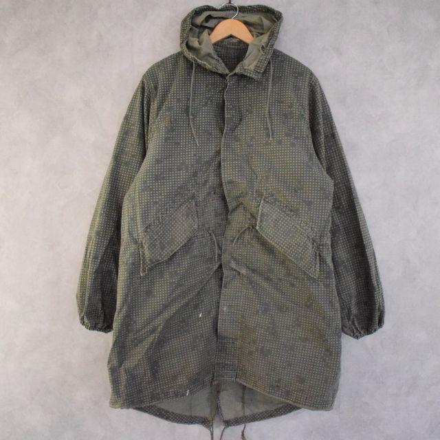 画像1: 【SALE】 80's U.S.ARMY Night Camoflage Parka MEDIUM ライナー付き (1)