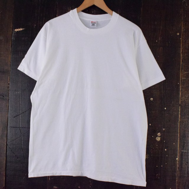 画像1: 90's Hanes 無地Tシャツ XL (1)